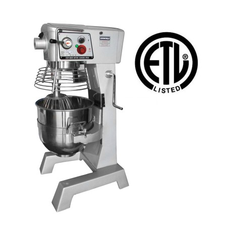 UNIWORLD Planetary Mixer 30 QT WITH TIMER