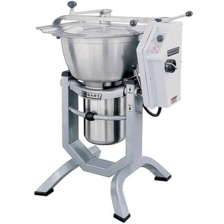 Hobart HCM450-62-4 45 Qt. Vertical Cutter / Mixer with Knife and Knead Attachments - 230/60/3 Phase, 5 hp