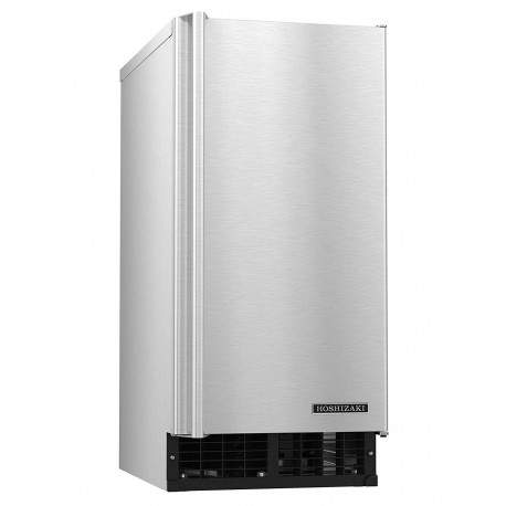 "Hoshizaki C-80BAJ-AD 14 7/8""W Nugget Undercounter Ice Maker - 80 lbs/day, Air Cooled, ADA"