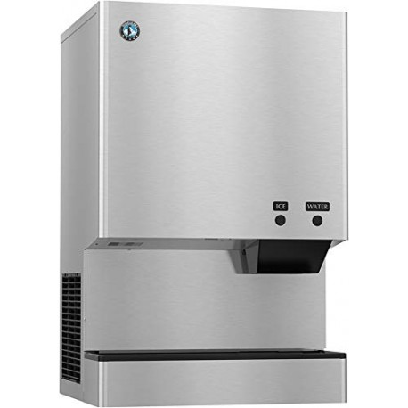 Hoshizaki DCM-751BWH-OS, Cubelet Icemaker, Water-cooled, Hands Free Dispenser, Built in Storage Bin