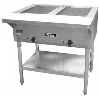 ADCRAFT 2 Bay Steam Table