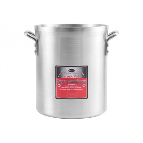 140 Qt Super Aluminum Stock Pot, 6mm