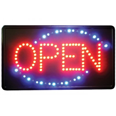 """Open"" LED Sign,..."