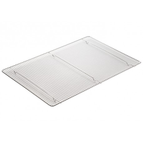 12''X161/2'' Wire Sheet Pan Grate, Stainless Steel