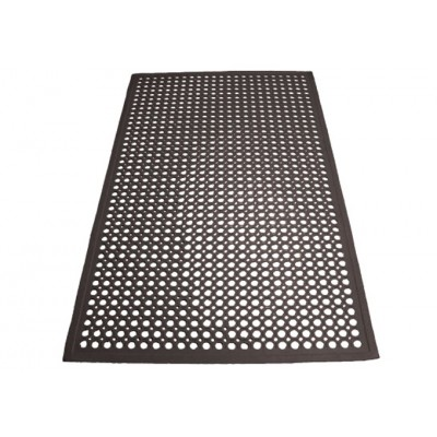 Black Rubber Floor Mats,...