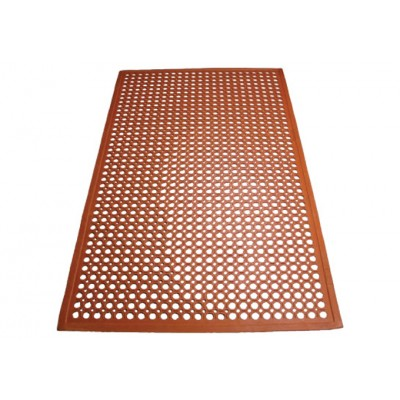 Red Rubber Floor Mats,...