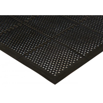 Rubber Floor Mat, Beveled...