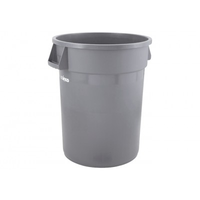 44 Gallon Round Trash Can,...