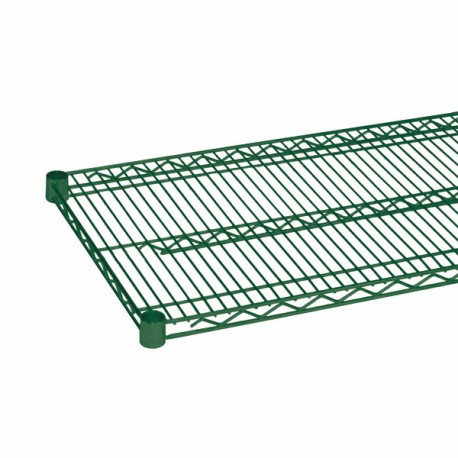 "18"" X 36""EPOXY COATING WIRE SHELVES WITH 4 SET PLASTIC CLIP 2PCS/BOX"