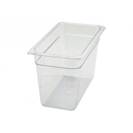 7.5'' Height 1/3 Size Polycarbonate Food Pan, 1/3 Size