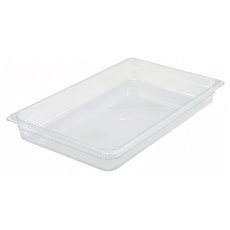 2.5 Height Full-Size Polycarbonate Food Pan