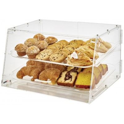 2 Tray Acrylic Display Case