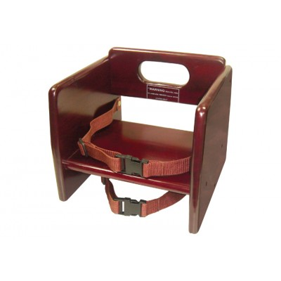 Mahagony Stacking Booster Seat