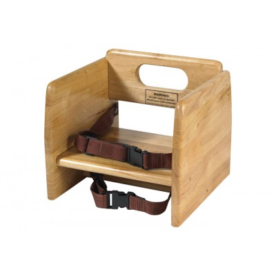 Natural Stacking Booster Seat