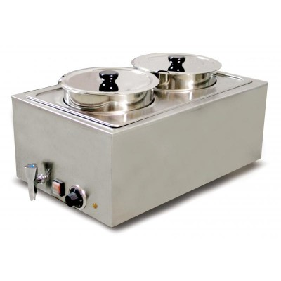OMCAN DOUBLE FOOD WARMER...