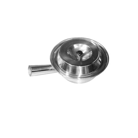 """THUNDER GROUP 7 1/4"""" STAINLESS STEEL, ONE HANDLE STEEL POT"""