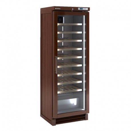 "Infrico IMD-EVV100 25.87"" One Section Wine Cooler w/ (1) Zone, 100 Bottle Capacity, 115v"